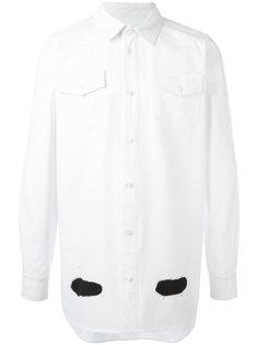 рубашка с полосками Off-White