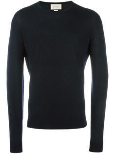 свитер с круглым вырезом   Gucci