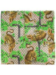 шарф с принтом Gucci Bengal Gucci