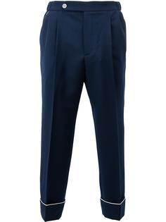 зауженные пижамные брюки Gucci