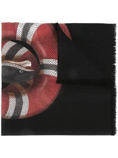 шарф с принтом  Gucci