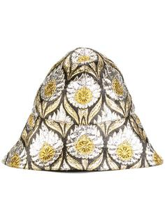 шляпа W Iris с люрексом Gucci
