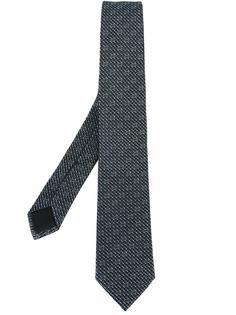 галстук с многраммным узором Gucci