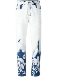 джинсы с линялым эффектом  Gucci