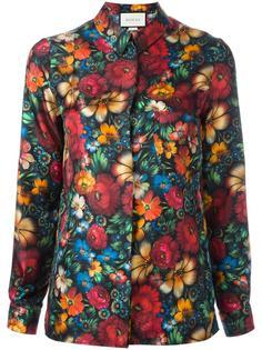 рубашка с цветочным принтом Gucci