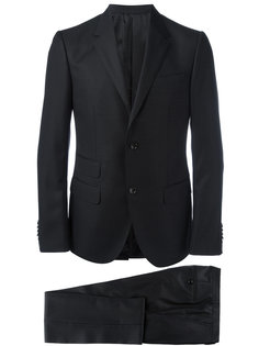 костюм с мелким узором в горох Gucci