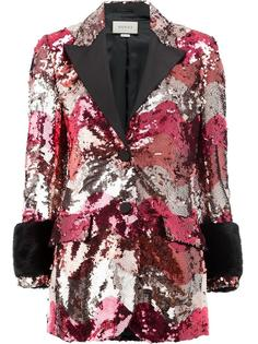 пиджак с пайетками Gucci