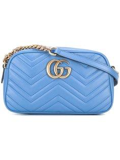мини сумка через плечо  GG Marmont Gucci