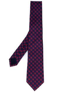 галстук с принтом черепов Gucci