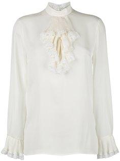 блузка с кружевной отделкой Gucci
