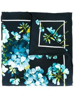 карманный платок с цветочным принтом Gucci