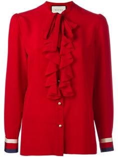 """блузка """"Sylvia Web Georgette"""" Gucci"""