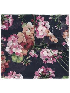 шарф с рисунком Blooms Gucci