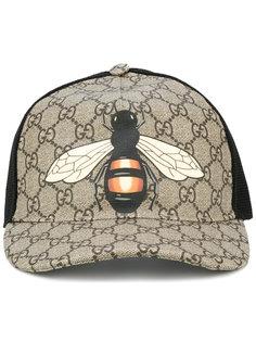 """бейсбольная кепка """"GG Supreme"""" с принтом пчелы  Gucci"""