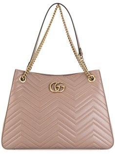 сумка-тоут GG Marmont Gucci