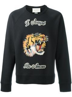 толстовка с тигром Gucci