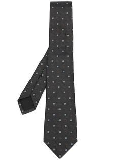 галстук с цветочным узором Gucci