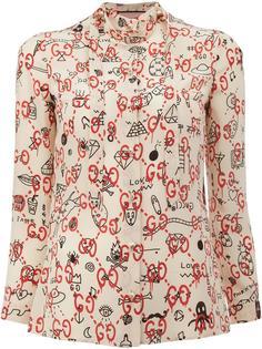 блузка GucciGhost Gucci