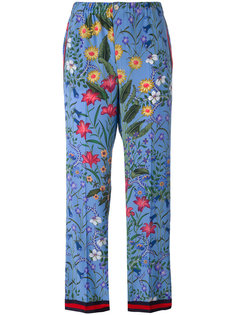 пижамные брюки New Flora Gucci