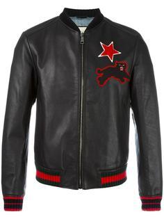 куртка с вышивкой Gucci