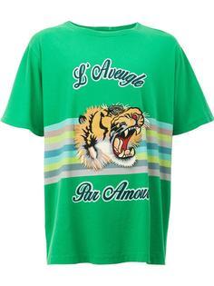 футболка с принтом Gucci