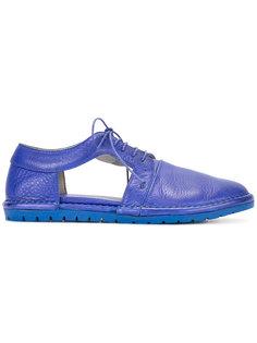 туфли с вырезными деталями Marsèll