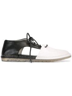 туфли с контрастными панелями Marsèll