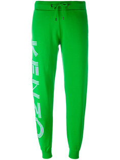 спортивные брюки с аппликацией-логотипом Kenzo