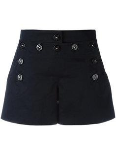 шорты с пуговичной отделкой Dolce & Gabbana