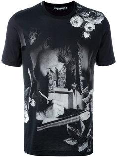 футболка с принтом Marlon Brando Dolce & Gabbana