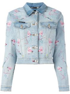 джинсовая куртка Pycnopodia  Philipp Plein