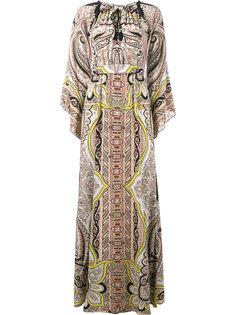 платье  с принтом пейсли   Etro