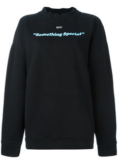 толстовка Something Special Off-White