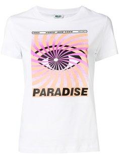 футболка Eye x Paradise Kenzo