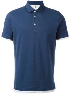 классическая футболка-поло Brunello Cucinelli