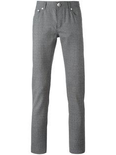 брюки кроя слим Brunello Cucinelli