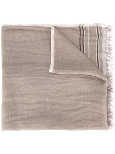 шарф с бахромой Brunello Cucinelli