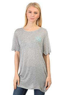 Футболка женская DC Ontonagon Tee J Grey Heather