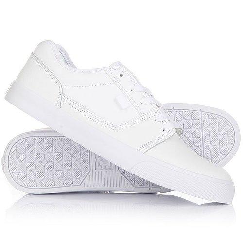 Кеды кроссовки низкие DC Tonik White