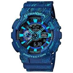Электронные часы Casio G-Shock Ga-110tx-2a Blue