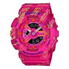 Электронные часы женские Casio G-Shock Baby-g Ba-110tx-4a Pink