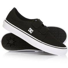 Кеды кроссовки низкие детские DC Trase V Black/White