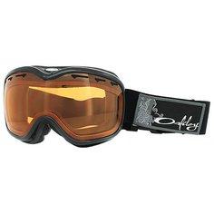 Маска для сноуборда Oakley Stockholm Jet Black Persimmon