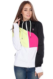 Толстовка сноубордическая женская Volcom Nepeta Hooded Full Zip White