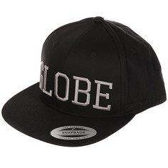 Бейсболка с прямым козырьком Globe Matlock Cap Black