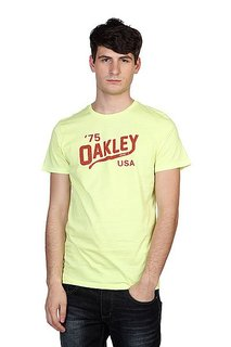 Футболка Oakley Oakey Legs Tee Neon Yellow