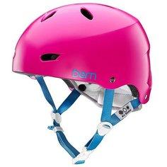 Шлем для сноуборда женский Bern Water Brighton Satin Magenta