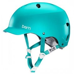 Шлем для сноуборда женский Bern Lenox Matte Turquoise