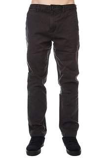 Штаны прямые Analog Ag Chino Pant Dark Charcoal