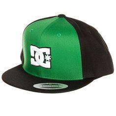 Бейсболка с прямым козырьком DC Snappy Fluo Green